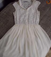 CLOCKHOUSE bela haljina