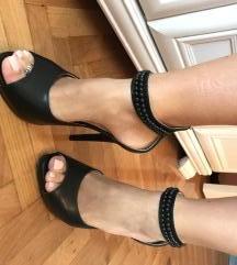 Prava koza sandale NOVE