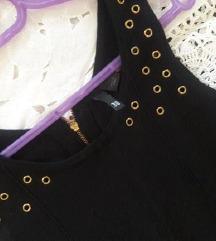 uska crna haljina/rastegljiva