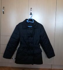 Crna punjena jakna