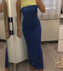 Legend duga plava haljina