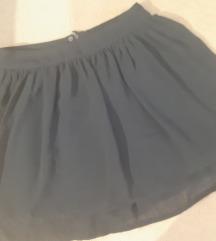 Crna suknja H&M- S 36