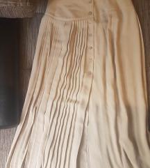 Dugacka suknja dublji struk