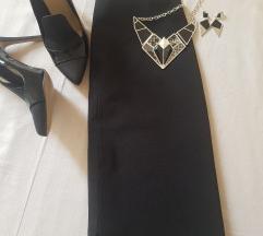 Sisley crna suknja, blago A xs/s