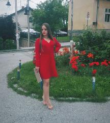 Hot red haljina