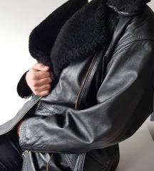 Zimska kozna jakna