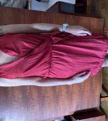 zara bordo haljina