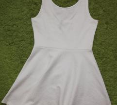 h&m bela haljina