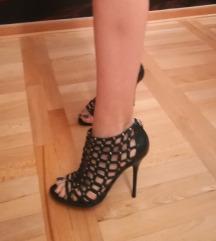 Nove Aldo crne sandale