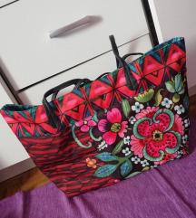 Nova Desigual torba sa dva lica