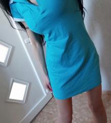 Haljina c &a,plava,sa etiketom