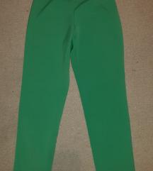 Zelene poluduboke pantalone iz Amerike