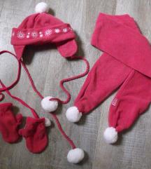 ❤️BEBA KIDS set za zimu sal kapa rukavice 2 ❤️