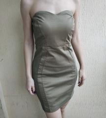 H&M Maslinasta top haljina  👌🏻💚