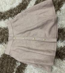 Krem suknjica