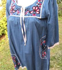 Pamučna tunika sa vezom  VERO moda