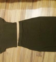 Komplet suknja ❤ crop top RASPRODAJA