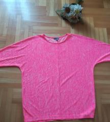 COS drečavo roze bluza