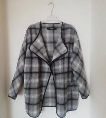 Only karirani sako / jakna sa vunom S/M