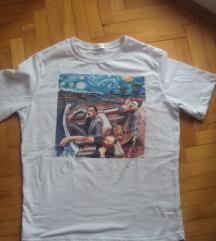 Majica Frida Kahlo Van Gogh Picasso-novo