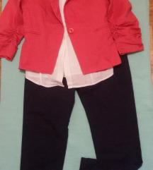 komplet sako+kosulja+pantalone