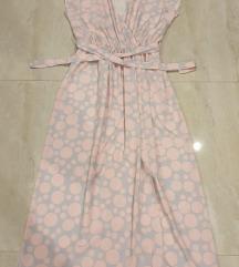 Haljina nezno roze SNIZENA NA 2000