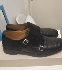 Kožne crne cipele SHOESTAR