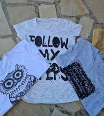 Tri majice za 500 dinara
