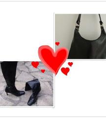 Cizme kao carapa + torba