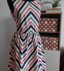 Pinup sarena haljina S