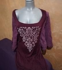 Tunika/haljina kratka sa neobičnim rukavima