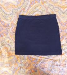 H&M crna uska mini suknja