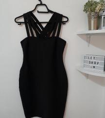 Crna bandage haljinica kao hl