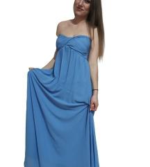 ALICE duga plava HALJINA - L/42 veličina * NOVO *