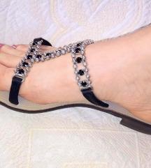 Armando Nani italijanske kozne papuce 39