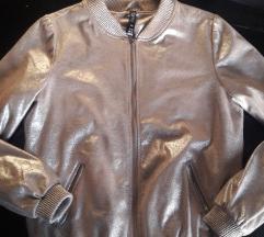 Bomber jaknica zlatno srebrnaSNIZENO