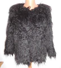 crna cupava jaknica vel L