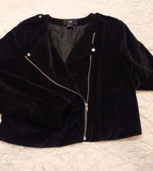 H&M crna kratka jakna
