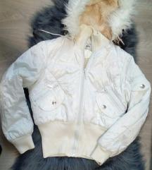 Debela zimska jakna sa krznom
