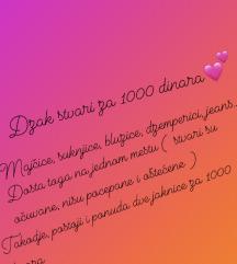 Dzak stvari za 1000 dinara!!!