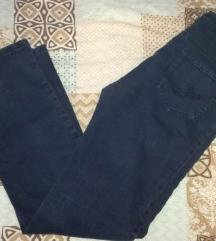 Classic jeans zelenkasto-plave