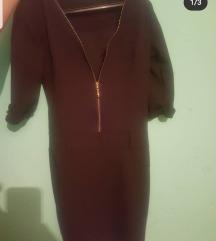 Crna svecana haljina