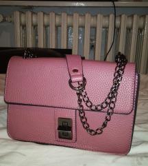 Pastel roza torba