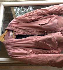 Bomber roze jaknica