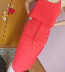 Narandzasta haljinica
