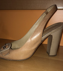 Kozne sandale na stiklu