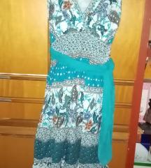Plava haljinica India shop