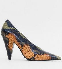 NOVE snake print MANGO cipele 36