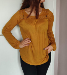 Bluza oker / senf boje