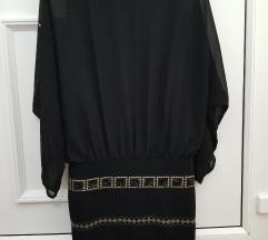 Crna elegantna italijanska haljina